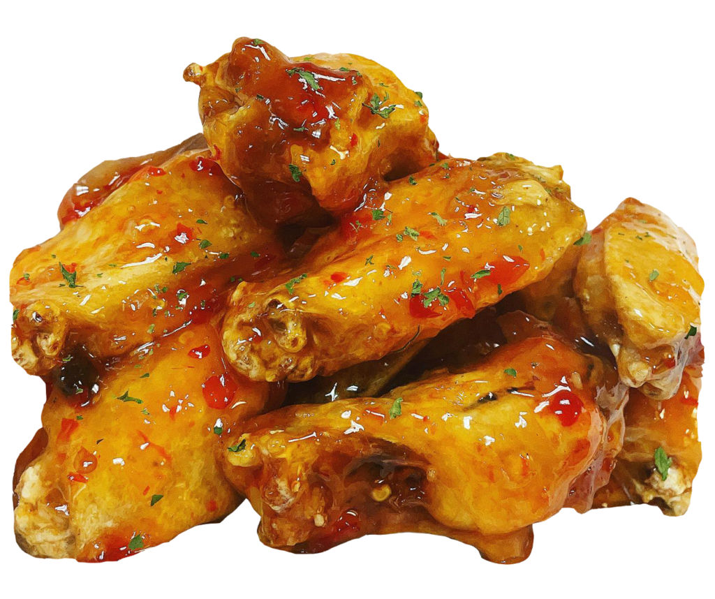 Wings from daddy's smackin' wings